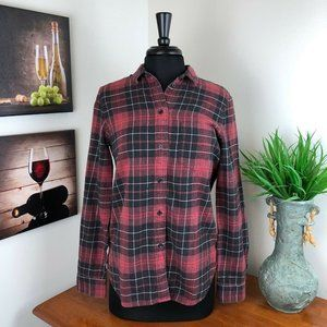MADEWELL Slim Flannel Shirt - Winslow Plaid Medium
